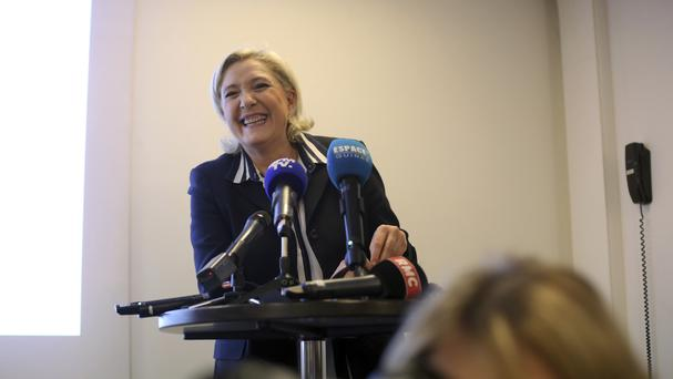 French far-right presidential candidate Marine Le Pen. (AP/Thibault Camus)