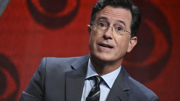 The Late Show host Stephen Colbert (Richard Shotwell/Invision/AP)