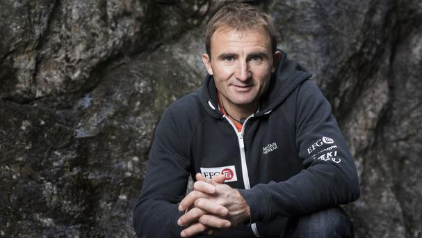 Swiss climber Ueli Steck was killed in a mountaineering accident near Mount Everest in Nepal (Christian Beutler/Keystone via AP)