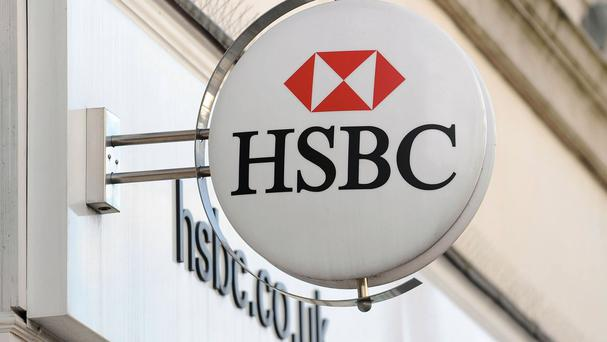HSBC shares gained 4pc to 671 pence each early yesterday afternoon. Photo: PA