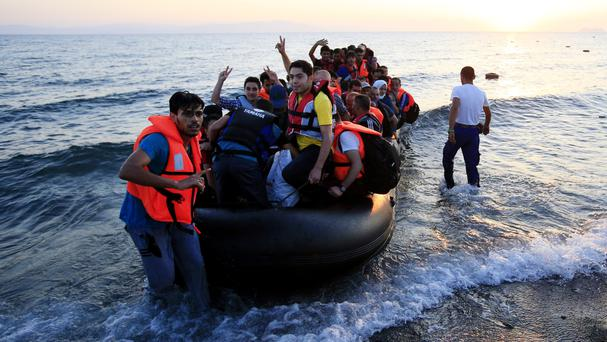 Hundreds of thousands of migrants and refugees have crossed the Mediterranean Sea in smugglers' boats