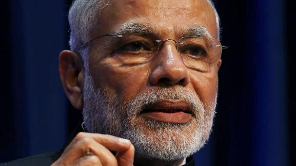 Narendra Modi is visiting the country this week