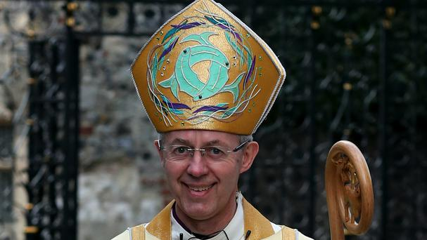 The Archbishop of Canterbury urged politicians to make peace their main goal, both between Israel and the Palestinians and across the Middle East