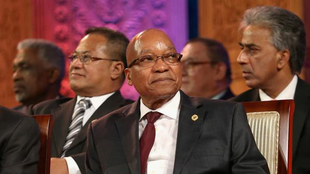 South African President Jacob Zuma is under fire.