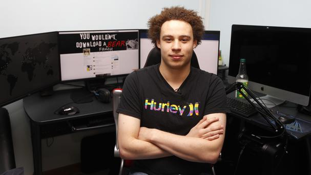 IT expert Marcus Hutchins who has been branded a hero for slowing down the WannaCry global cyber attack (AP)