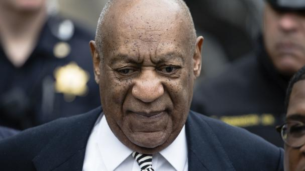 Bill Cosby said his lawyers would not let him discuss the criminal case (AP)