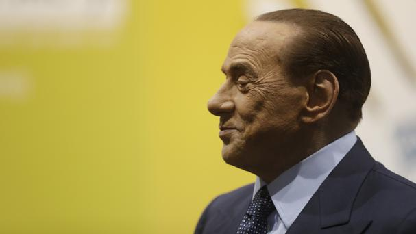 The court said Silvio Berlusconi is one of the richest men in the world (Luca Bruno/AP)