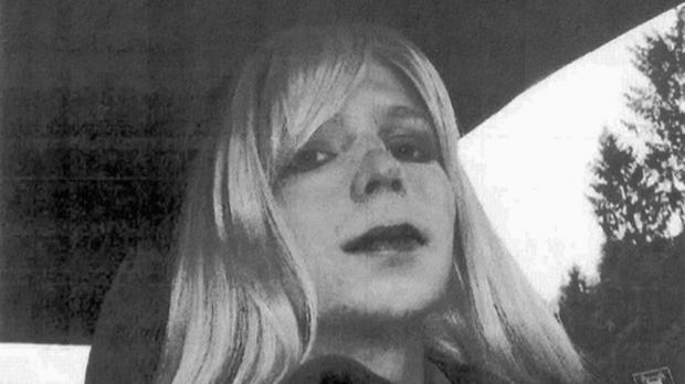 Chelsea Manning will remain on active duty in a special status after her release from prison (US Army/AP)
