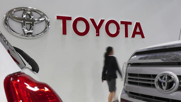 Toyota is among the firms backing the initiative (AP)