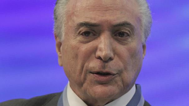 Brazilian shares tumble on fears president could be ousted