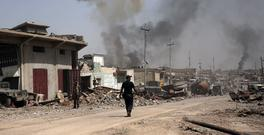Iraqi forces are moving in on the last areas held by IS in Mosul