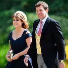 Princess Eugenie and her partner Jack Brooksbank Picture: PA