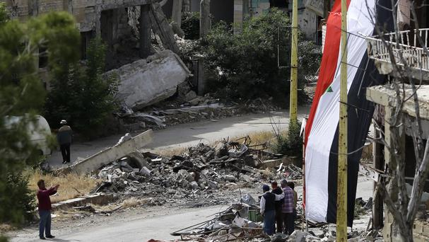 The attacks were carried out in rebel-controlled Idlib province