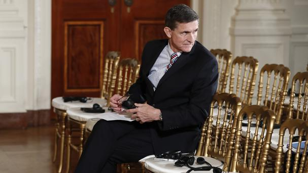 Michael Flynn was appointed as Donald Trump's senior national security aide in January, only to be fired less than a month later (AP)
