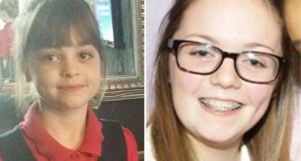Saffie Rose Roussos (8) and Georgina Bethany Callander (18) have been confirmed dead