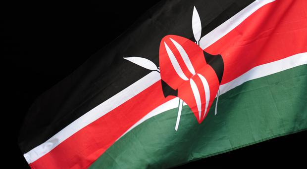 Three police officers have been killed when their vehicle ran over an improvised bomb in Kenya