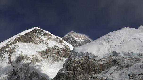 Mount Everest, where four bodies were reportedly found inside a tent (AP Photo/Tashi Sherpa, File)