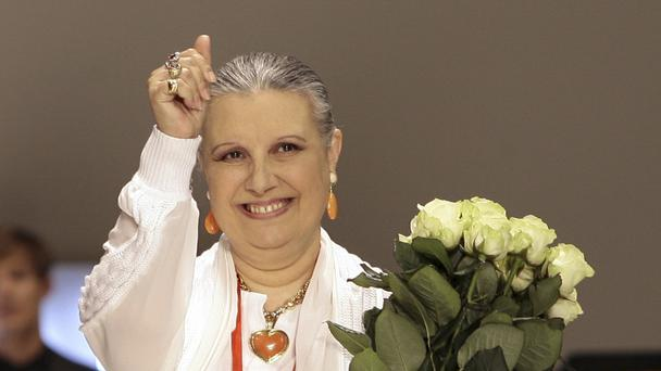 Italian fashion designer Laura Biagiotti dies at 73
