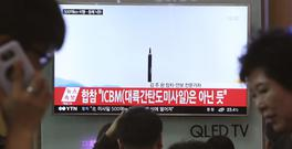 North Korea is undoubtedly the focus of US efforts (AP)