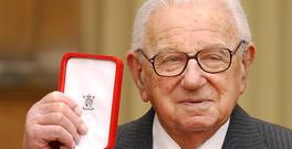 Sir Nicholas Winton, pictured in 2003