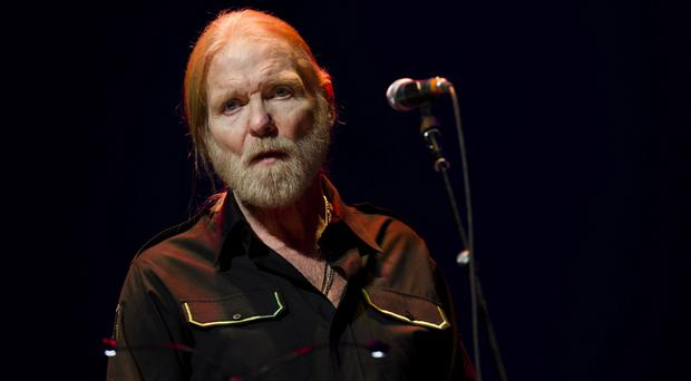 Gregg Allman performs at Eric Clapton's Crossroads Guitar Festival 2013 in New York (Charles Sykes/Invision/AP)