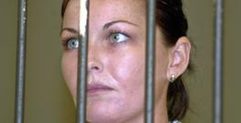 Schapelle Corby pictured in 2005 behind bars before her appeal trial in Denpasar's court, Bali (AP Photo/Firdia Lisnawati, File)