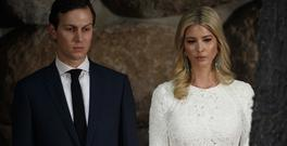 Jared Kushner and his wife Ivanka Trump (AP Photo/Evan Vucci)