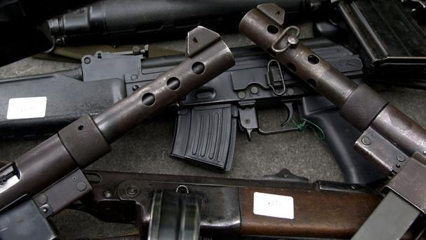 The rebels have another 20 days to hand over their guns