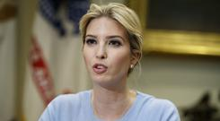 Ivanka Trump's brand declined to comment on the allegations or the arrest and disappearances (AP)