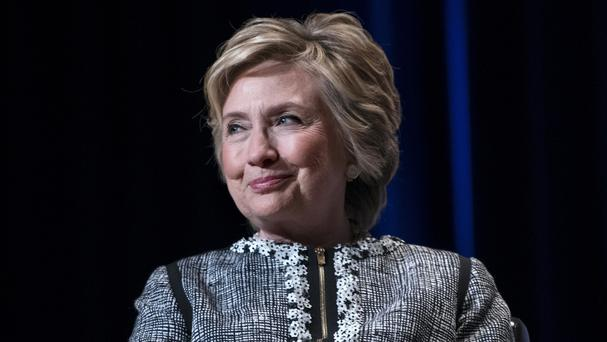 Hillary Clinton lashed out at US president Donald Trump (AP)
