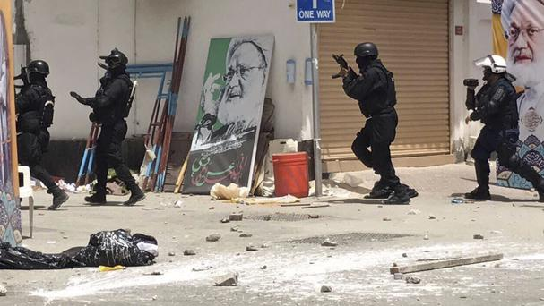 Bahrain is in the midst of a crackdown on dissent (AP)