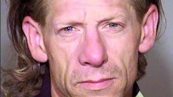 George Tschaggeny was arrested over the theft (Multnomah County Sheriff's Office via AP)