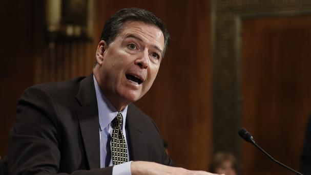 James Comey is set to testify before the Senate Intelligence committee on Thursday (AP)