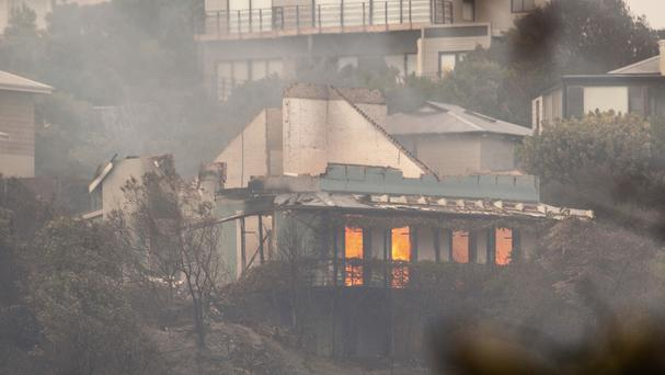 Three dead in Knysna fire