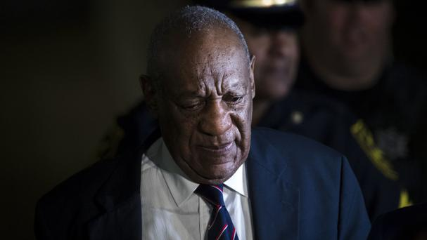 Bill Cosby leaves court after jurors suspend deliberations (AP)