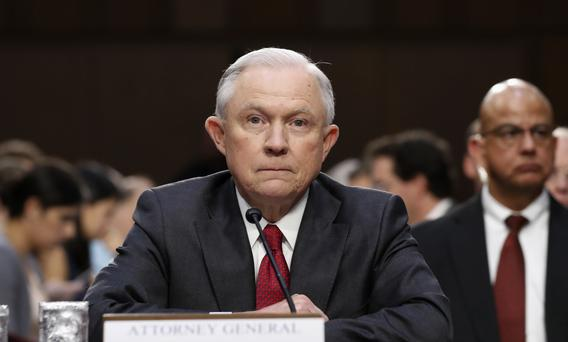 Attorney General Sessions Testifying in Russia Probe Hearing