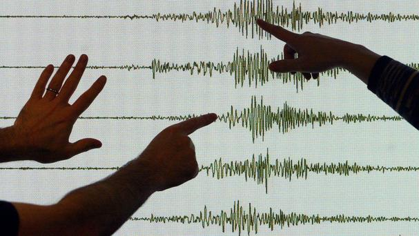 The tremor was centred five miles south-west of Tajumulco, Guatemala, about 69 miles below the surface, the US Geological Survey reported