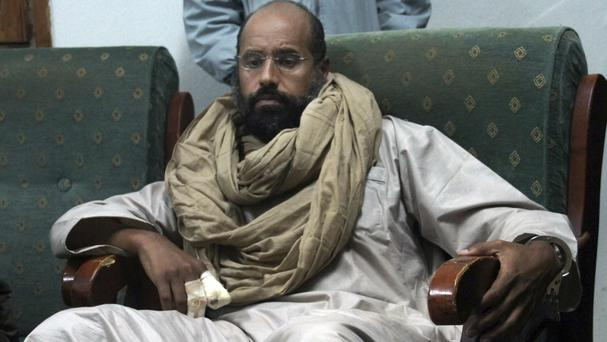 War crimes prosecutor calls for arrest of Saif Gaddafi, dictator's son