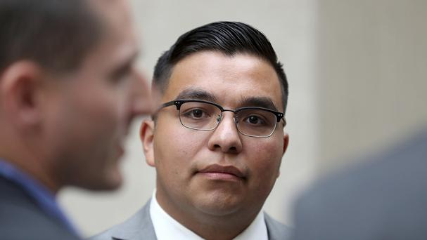 Jeronimo Yanez was cleared of manslaughter (AP)