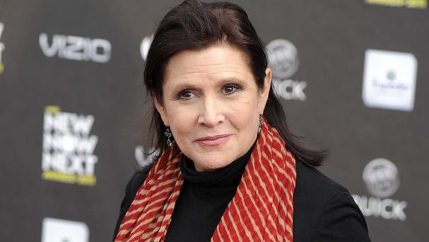 Carrie Fisher died in December (Chris Pizzello/AP)