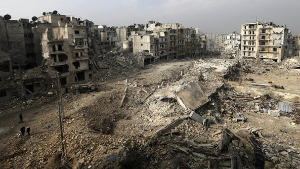 The development comes as tensions rise in Syria, with Russia and Iran sending warnings to the US (Hassan Ammar/AP)