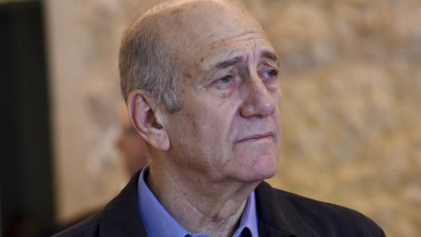 Ehud Olmert is appealing for early release (Debbie Hill/Pool File Photo via AP)