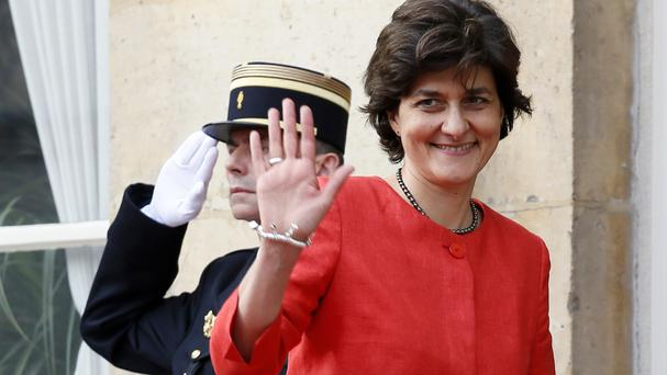 Sylvie Goulard is stepping down amid an investigation into her party's use of European Parliament aides (Francois Mori/AP)
