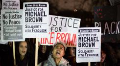 The fatal shooting of black teenager Michael Brown sparked widespread protests