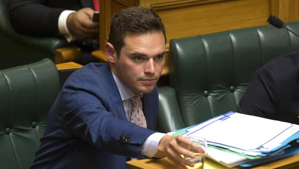 Todd Barclay is accused of making secret recordings of a staff member (New Zealand Herald/AP)