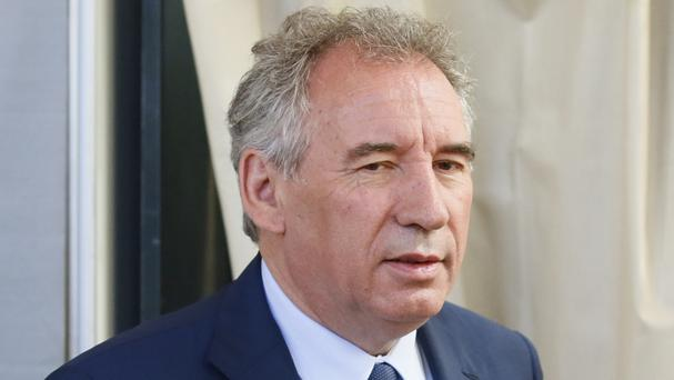 Francois Bayrou's small centrist Modem party is allied with Emmanuel Macron's Republic on the Move party (Bob Edme/AP)