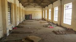 A deserted cell in the public section of Aden Central Prison (AP)