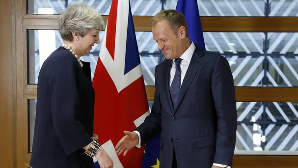 European Council president Donald Tusk made the announcement during a summit of EU nation leaders