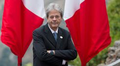 Italian prime minister Paolo Gentiloni has given hope to people with savings in two struggling banks