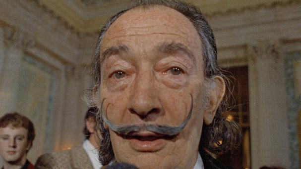 Spanish surrealist painter Salvador Dali's remains are to be exhumed following a paternity suit (AP)